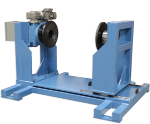 custom single axis trunnion weld positioning system