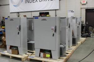 Rotary Index Drive VFD Controls