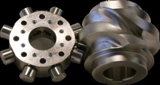globoidal-cam rotary table drive