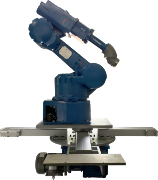 RT400 Robot Base for Rotary Index Table Integration